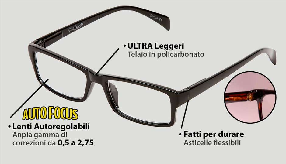 one power readers caratteristiche